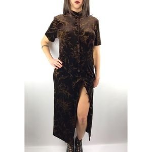 NWT Vintage Dead stock Asian inspired long dress